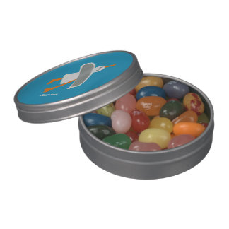 Art Home: John Dyer Seagull Jelly Beans Jelly Belly Candy Tin