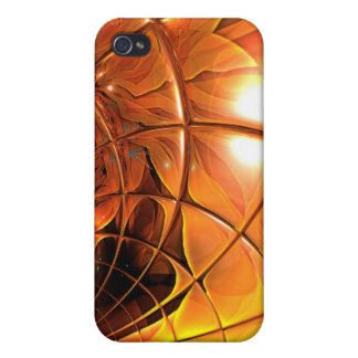Art Honeycomb Glass Abstract iPhone 4/4S Covers