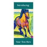 Art Horse Full Color Rack Card