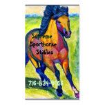 Art Horse Pack Of Standard Business Cards