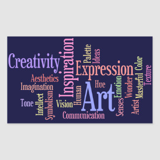 Art Inspiration - Artist, Creative Person Sticker