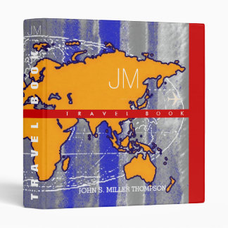 art-inspired travel-book, cool world map binders