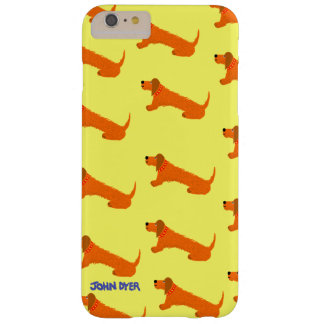 Art iPhone 6 plus Case: Sausage Dog Barely There iPhone 6 Plus Case