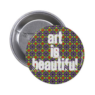 Art is beautiful - Pin