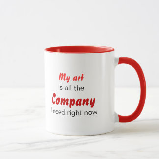 Art is Company Mug