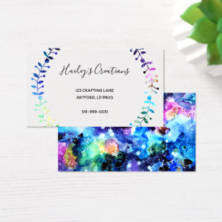 Art is Individuality Business Card