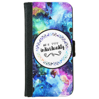 Art is Individuality iPhone 6 Wallet Case