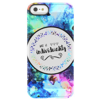 Art is Individuality Permafrost® iPhone SE/5/5s Case