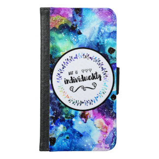 Art is Individuality Samsung Galaxy S6 Wallet Case