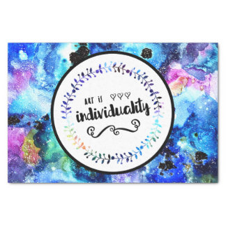 Art is Individuality Tissue Paper