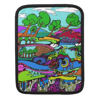 Art is life trees and wild landscApe iPad Sleeve
