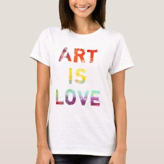 Art Is Love T-Shirt