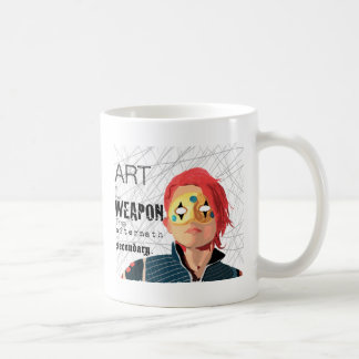 Art is the Weapon Coffee Mug