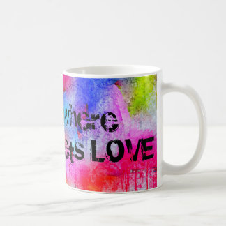 ART is where WORK meets LOVE Coffee Mug