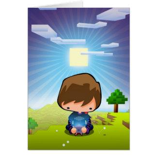 Art le Gamer Carte De Vœux