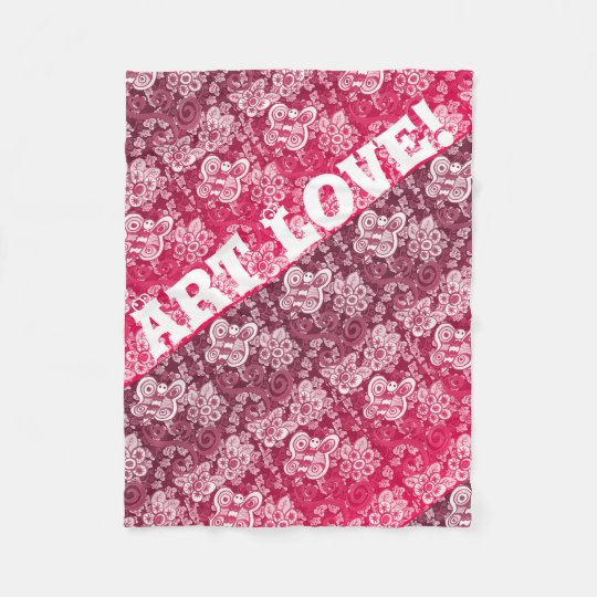 Art Love - Fleece Blanket