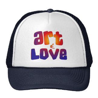 Art & Love Trucker Hat