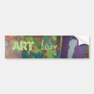 Art Lover Bumper Sticker