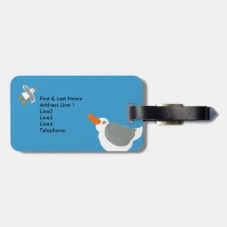 Art Luggage Tag: Seagull John Dyer Luggage Tag