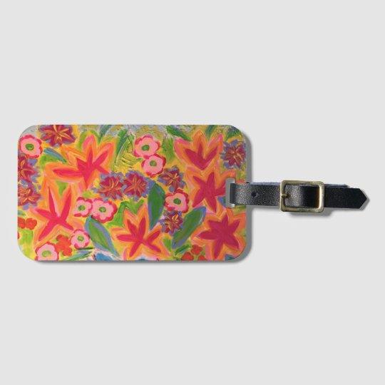 Art Luggage Tag w/ Business Card