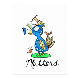 Art Matters! Postcards