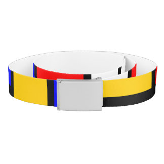 Art mondrian belt