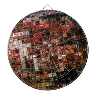 Art mosaic grunge textures graphic 2 dartboard