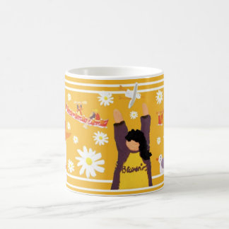 Art Mug: Guides 100 Centenary Mug. Yellow