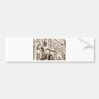 Art muse bumper sticker