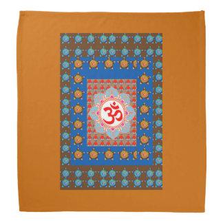 "Art NAVIN BANDANA 19"" Sq  headgear gurudwara sikh"