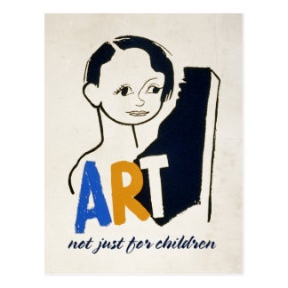 ART... not just for children [postcard] Postcard