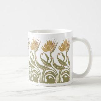 Art Nouveau 2 Coffee Mugs