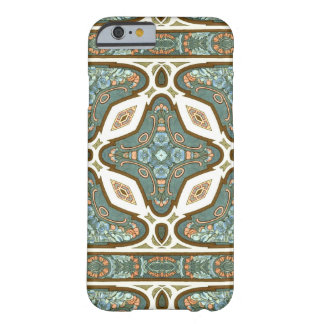 Art Nouveau Alphonse Mucha Vintage Feather Barely There iPhone 6 Case