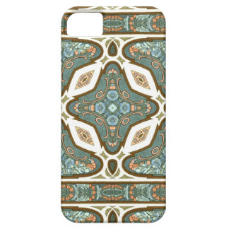 Art Nouveau Alphonse Mucha Vintage Feather iPhone 5 Case