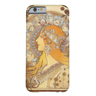 Art Nouveau Alphonse Mucha Zodiac iPhone 6 case Barely There iPhone 6 Case