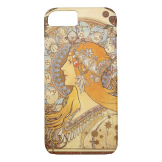 Art Nouveau Alphonse Mucha Zodiac iPhone 7 case
