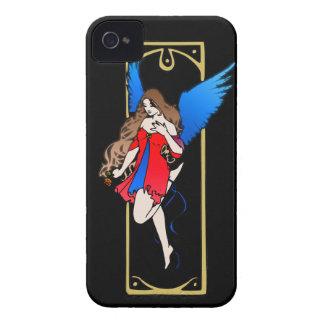 Art Nouveau Angel/Fairy iPhone 4 Case-Mate Case