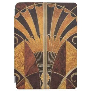 art Nouveau,art deco, vintage, multi wood colours, iPad Air Cover