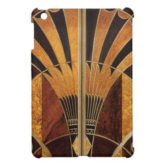 art Nouveau,art deco, vintage, multi wood colours, iPad Mini Case