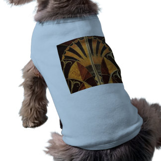 art Nouveau,art deco, vintage, multi wood colours, Shirt