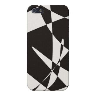 art nouveau b&w iPhone 5 covers
