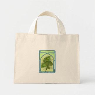 Art nouveau. Basil. Mini Tote Bag