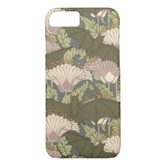 Art Nouveau Bats and Lillies iPhone 8/7 Case