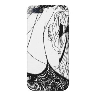Art Nouveau Beardsley Illustration: iPhone 4 Case