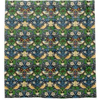 Art Nouveau Bird and Flower Tapestry Pattern