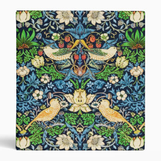 Art Nouveau Bird and Flower Tapestry Pattern Binders