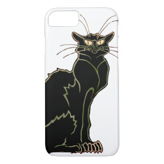 Art Nouveau Black Cat iPhone 8/7 Case