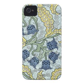 Art nouveau bluebells Case-Mate iPhone 4 cases