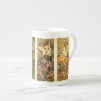 Art Nouveau Bone China Mug