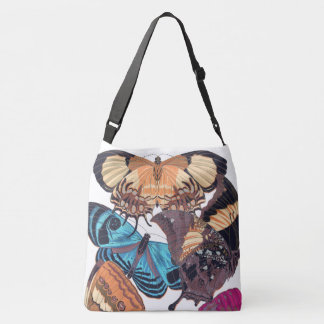 Art Nouveau Butterflies Papillon Tote Bag